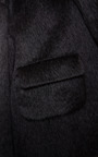Black Alpaca Oversize Jacket by ROCHAS for Preorder on Moda Operandi