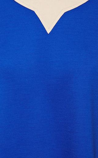 Royal Blue Plath Top by ROKSANDA for Preorder on Moda Operandi