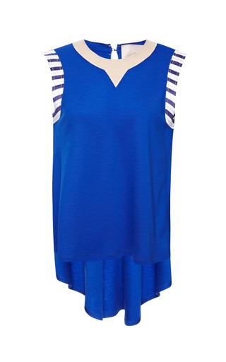 Medium roksanda ilincic stripe royal blue plath top