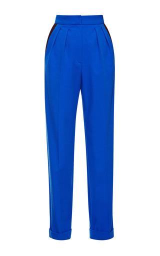 Medium roksanda ilincic yellow royal blue marre trousers