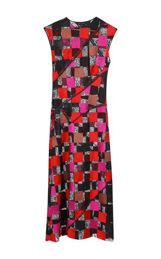 Medium jonathan saunders red nina dress
