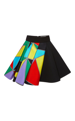 Medium fausto puglisi multi multicolor printed skirt