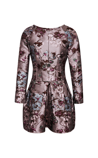 Medium nina ricci multi brocade dress 2