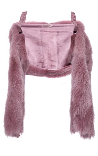 Medium nina ricci pink fox stole