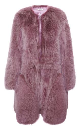 Medium nina ricci purple fox coat