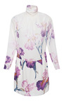 Printed Silk Crepe Iris Dress by NINA RICCI for Preorder on Moda Operandi