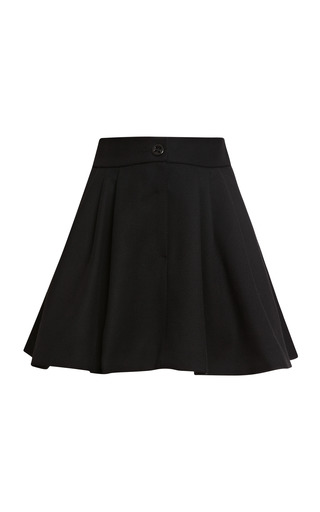 Medium olympia le tan black copperfield mini skirt in black
