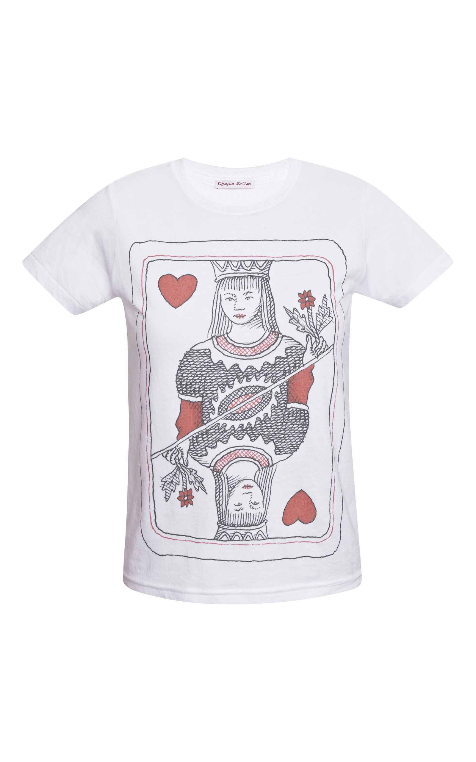 Queen printed t shirt by olympia le tan moda operandi for T shirt printing missouri city tx