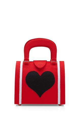 Medium olympia le tan red blood red heart bernard