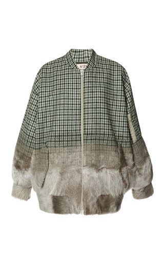 Medium no 21 plaid cara sport jacket