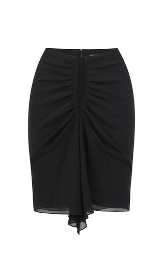 Medium isabel marant black canelli skirt 2