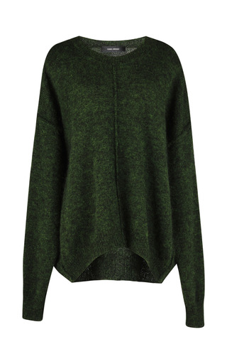 Medium isabel marant green tam sweater 3