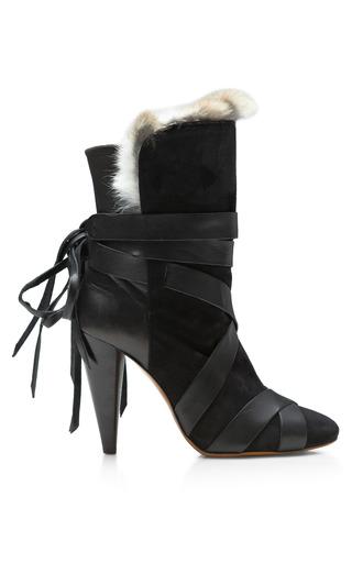 Medium isabel marant black neta shoe