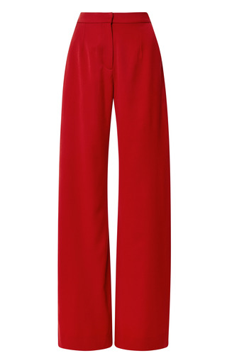 Medium mother of pearl red red brent tailored trousers