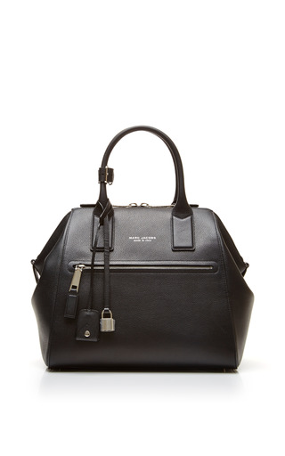 Medium marc jacobs black large incognito bag