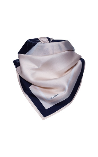 Medium ellery white celestial scarf 2