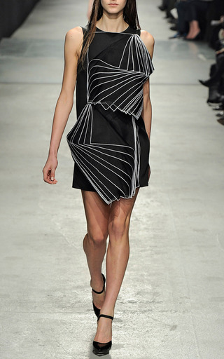 Double Square Layered Organza Dress by CHRISTOPHER KANE for Preorder on Moda Operandi