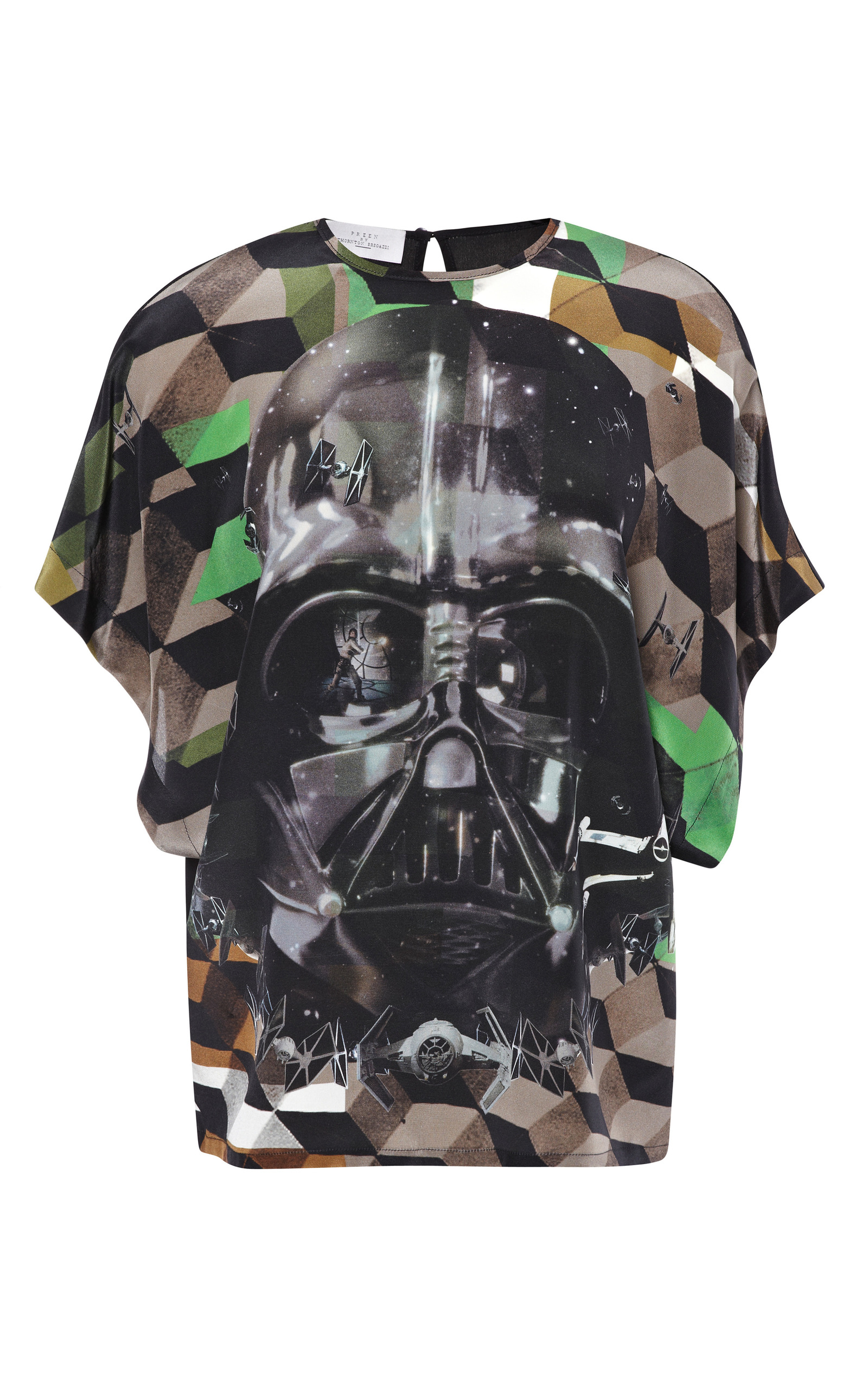 Padme Top With Darth Vader By Preen By Thornton