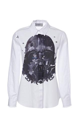 Medium preen print sith shirt with darth vader