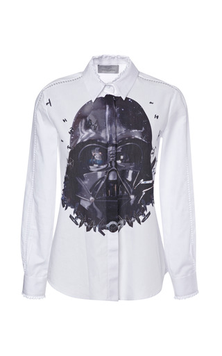 Medium preen print sith shirt with darth vader