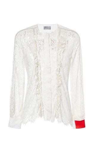 Medium preen off white hall blouse