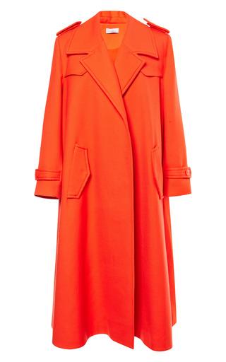 Medium preen red zeta coat