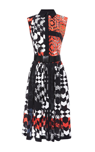 Medium preen print luna dress with belt