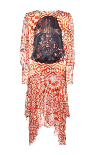 Medium preen red kenobi dress