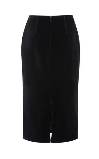 Embellished Velvet Pencil Skirt by MSGM for Preorder on Moda Operandi