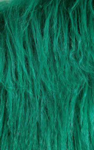 Moss Sheepskin Stole by MARNI for Preorder on Moda Operandi