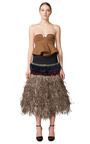 Moss Bustier Top by MARNI for Preorder on Moda Operandi