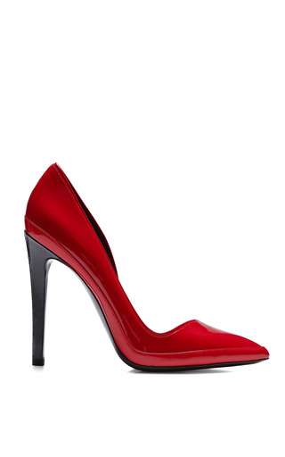 Medium anthony vaccarello red red pump