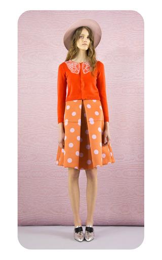 Anna Scuba Dot Skirt by VIVETTA Now Available on Moda Operandi