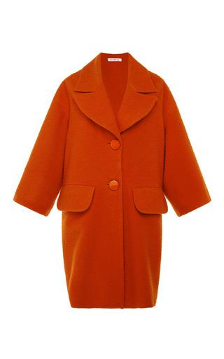Medium vivetta red solen casentino coat