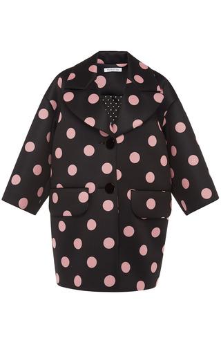 Medium vivetta black aurelio coat