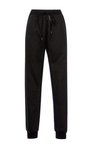 Medium muller black stitch jacquard pants
