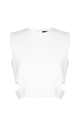 Medium josh goot white minimal cut out harness