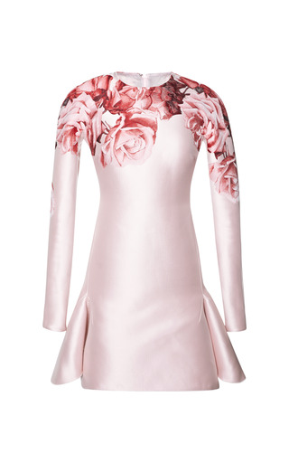 Medium giambattista valli print small rose kimono dress
