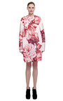 Large Rose Drop Shoulder Coat by GIAMBATTISTA VALLI for Preorder on Moda Operandi