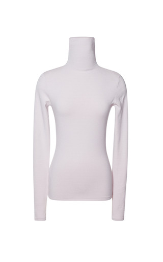 Medium giambattista valli pink mock neck knit