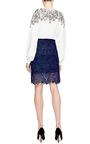 Giupure Lace Skirt by OSCAR DE LA RENTA Now Available on Moda Operandi