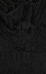 Black Silk Faille One Shoulder Cocktail Dress by MARCHESA for Preorder on Moda Operandi