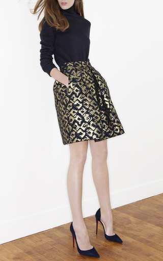 Brocade Bell Skirt by MARTIN GRANT for Preorder on Moda Operandi
