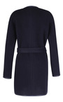 The Robe Coat With Leather Trim by MARTIN GRANT for Preorder on Moda Operandi