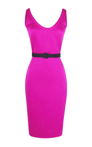 Medium martin grant pink marcel belted dress