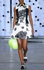 Carolina Floral Jacquard Dress by TANYA TAYLOR for Preorder on Moda Operandi
