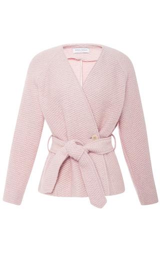 Medium tanya taylor pink betty alpaca fluff jacket