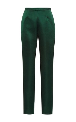 Medium katie ermilio green matchstick pants
