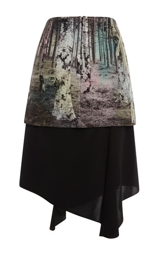 Enchanted Forest Double Layered Skirt by TIBI for Preorder on Moda Operandi