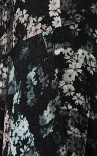 Floral Fields Long Sleeve Dress by TIBI for Preorder on Moda Operandi